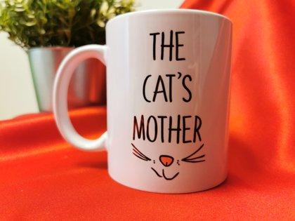 Puodelis kačių mylėtojams Cat's Mother