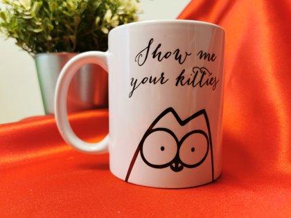 Puodelis kačių mylėtojams Show me your kitties